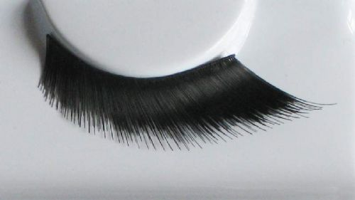 Eyelash Eye Lash set Diagonal Stand Tight Black